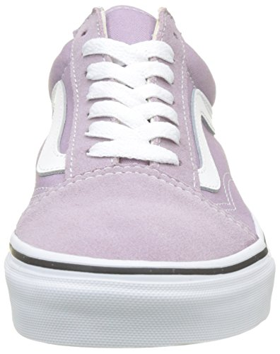 Vans Damen Old Skool Laufschuhe Pink (Sea Fog/true White)