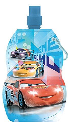 Preisvergleich Produktbild Arditex–wd8559–Trinkflasche faltbar–Cars–22x 12cm–blau