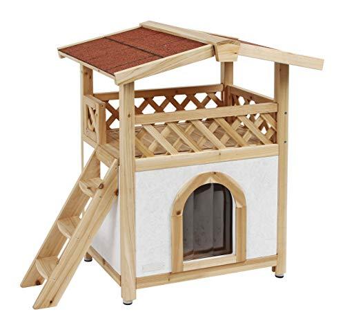 Kerbl - casa per gatti, in stile tirolese, 57x 88cm