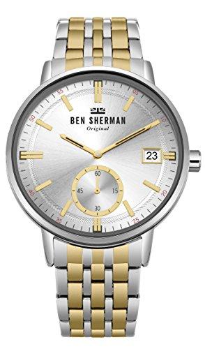 Ben Sherman Herren-Armbanduhr WB071GSM