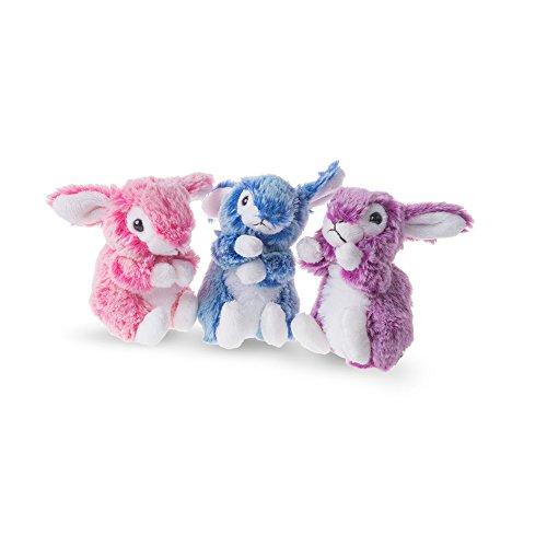 Preisvergleich Produktbild Plüsch Hase bunt 15 cm - weiches Plüschtier Kuscheltier Stofftier Bunny assortiert