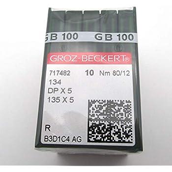 10 Nähnadeln 134 Stärke: Nm 110 GROZ-BECKERT Nadeln DPx5, 135x5