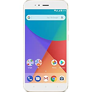 "Xiaomi Mi A1 - 5.5 telèfon intel·ligent gratuït"" (4G, Wi-Fi, Bluetooth, SnapDragon 625 2.0 GHz, 64 GB, 4 GB RAM, Android One), Or"