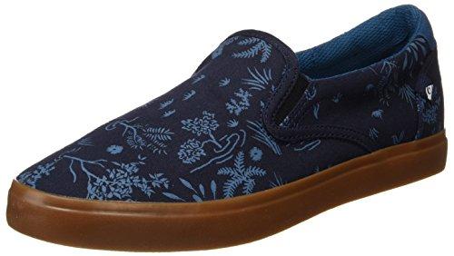 Quiksilver Herren Shorebreak Slip-On Sneaker, Blau (Blau / Weiß / Blau), 38 EU