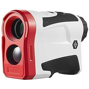 BIJIA 6 x 22 600 m USB wiederaufladbarer Monokular-Golf-Entfernungsmesser mit Flaggenschloss und Neigungskorrektur-Modus…