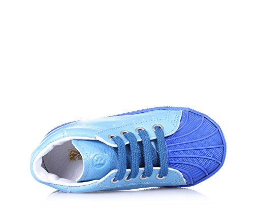 Falcotto 0012009964.01.9105 Sneakers Boy Leder Hellblau Hellblau
