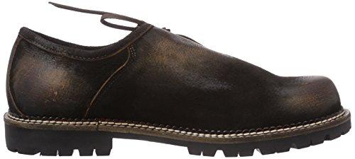 Trachtenrebell Fabian, Chaussures Oxford homme Marron (moor)