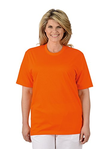 Trigema Damen T-Shirt Orange (Mandarine 062)