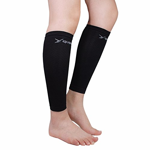 Leg Compression Sleeve Pair Tattoo Cover up for Women Men - Calf Shin Support for Shin Splints and Calf Pain Relief Basketball Running Enhance Blood Circulation Two Pieces