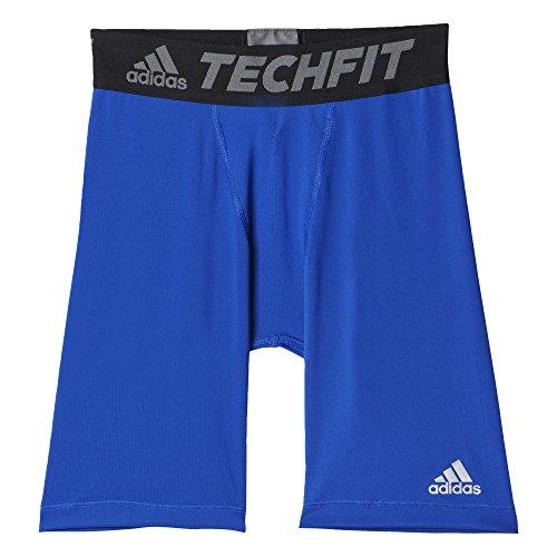 adidas Jungen Shorts YB TF Base Kurze Tights, Bold Blue, 128