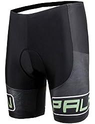 Shorts de cyclisme masculins Polyester moulé professionnel avec coupe rapide et résistant aux rayons ultraviolets Bicyclettes respirantes 3D rembourrés