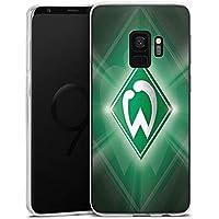 Samsung Galaxy S9 Silikon Hülle Case Schutzhülle Werder Bremen Fanartikel Fussball