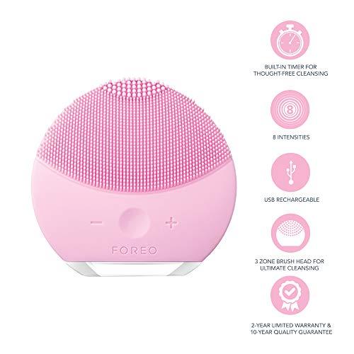 Foreo LUNA mini 2 elektrische Gesichtsreinigungsbürste ,Pearl Pink