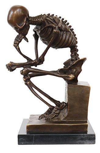 Escultura de bronce - El pensador