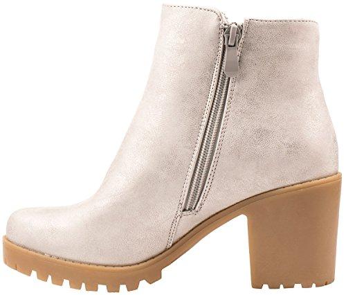 Elara , chaussures compensées femme Silber