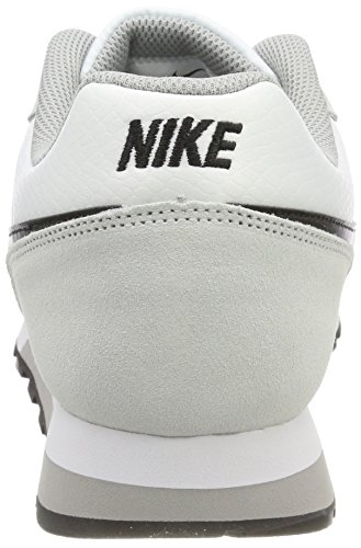 Nike MD Runner 2, Scarpe da Ginnastica Basse Donna Bianco (White/black Wolf Grey 100)