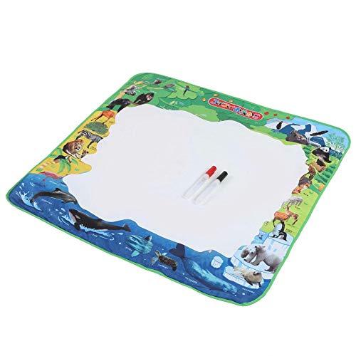 Wasser Leinwand Decke, 78 * 78 cm kinder Zauberdecken Wiederverwendung Pädagogische Schreiben Kreatives Spielzeug für Baby