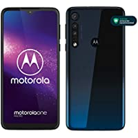 "Motorola One Macro (6,2"" HD+ display, Macro vision camera, 64GB/ 4GB, Android 9.0, dual SIM smartphone), Space Blue"