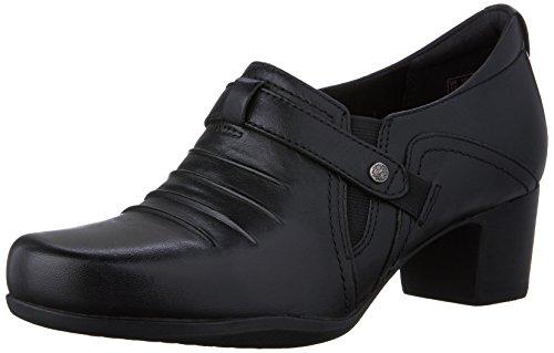 Clarks Rosalyn Nicole Slip-on Mocassins Black Leather