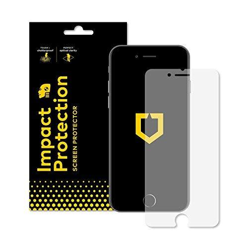 RhinoShield Protector de Pantalla iPhone 8 / iPhone 7 [Impact Protection] | Dispersión de Impacto de Alta Resistencia - Protección de Pantalla Resistente a los arañazos/Huellas Dactilares