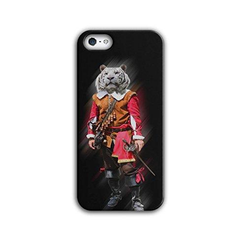 Tiger Ritter Cool Komisch Kostüm Katze iPhone 5 / 5S Hülle | Wellcoda