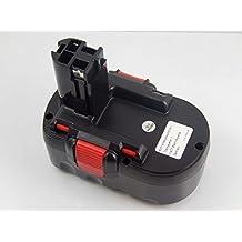 vhbw batería NiMH 3000mAh (18V) para herramienta eléctrica Bosch GST 18 V, PSB 18 VE 2, PSR 18 VE-2.