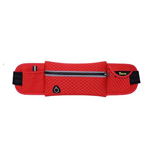 Mit Taschen, Übung, Taschen, Outdoor - Männer Und Frauen Red honeycomb lattice