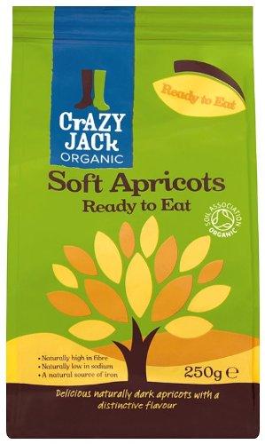 Crazy Jack's Organic Soft Dried Apricots, 250g Test