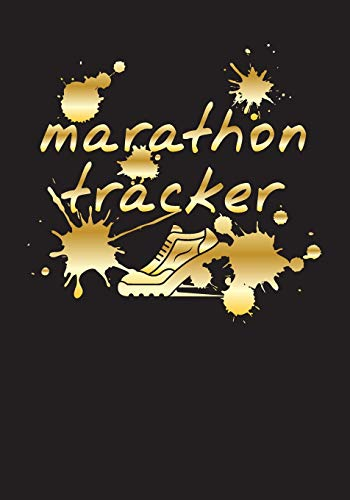 Marathon Tracker: Race Keepsake Notebook Diary por Dartan Creations
