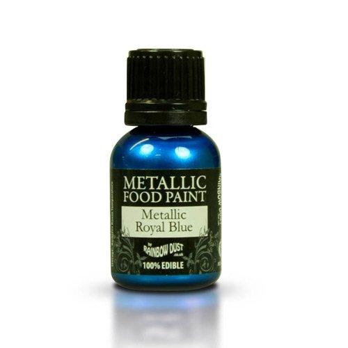 Metallic Lebensmittelfarbe, royalblau