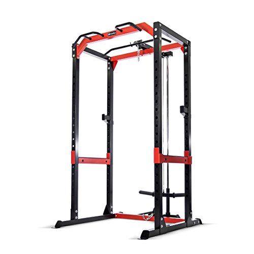 Bodymax CF475 Heavy Power Rack with Lat/Low Pulley