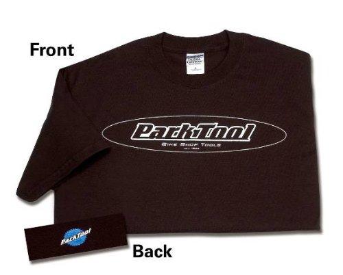 Park Tool Oval Logo Short Sleeve T-Shirt, unisex Herren, braun (Logo-t-shirt Ovale)