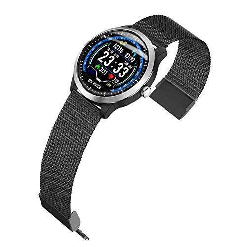 YLOVEKS Intelligentes EKG-Armband EKG + PPG-ÜBerwachung Hrv-Bericht Blutdruck-Herzfrequenz-Test äLteres Armband