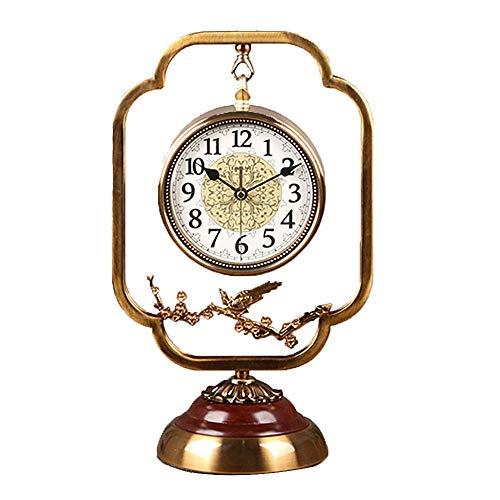 Liuzecai Reloj de Mesa La decoración del hogar Pequeño Reloj de ...