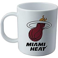 Taza y pegatina de Miami Heat - NBA