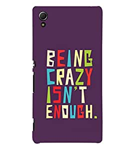 Fuson Premium Printed Hard Plastic Back Case Cover for Sony Xperia Z4