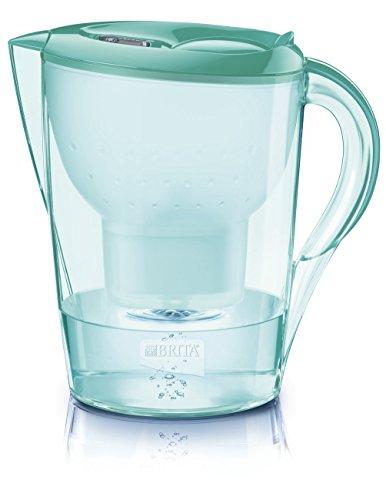 BRITA Fill&Enjoy Marella XL - Filtro de Agua (Filtro de Agua para Jarra, Verde, Transparente, 3,5 L, 2 L, 265 mm, 155 mm)