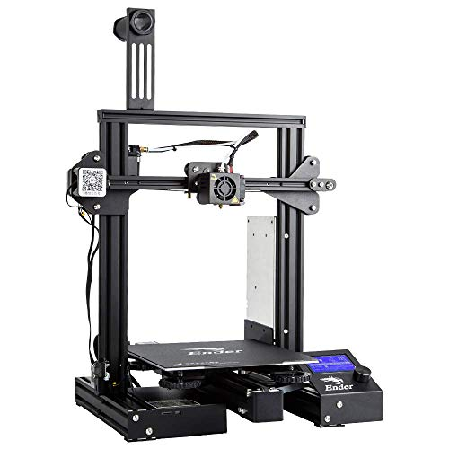 "Comgrow Creality 3D Ender 3 Pro 3D Printer with Upgrade Cmagnet Build Surface Plate and UL Certified Power Supply 8.6"" x 9.8"""