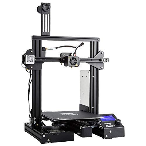 Creality 3D Ender-3 Pro Impresora 3D con Placa de Superficie de Construcción Cmagnet de Actualización y Fuente de Alimentación Certificada por UL