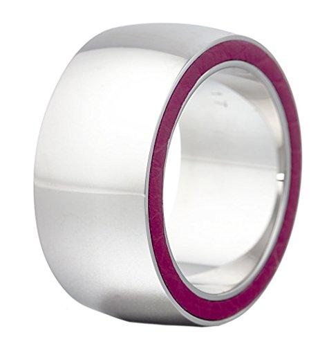 Esprit Collection Damen-Ring Edelstahl rhodiniert Persephone Pink Gr.57 (18.1) S.ELRG12117B180