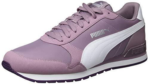 Puma Unisex-Erwachsene St Runner V2 Nl Fitnessschuhe, Violett (Elderberry-Puma White-Indigo 16), 40.5 EU -