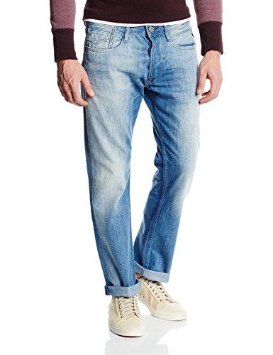 Replay - Newbill, Jeans da uomo, Blu (Blue Denim 10), W33/L34 (Taglia Produttore: 33)