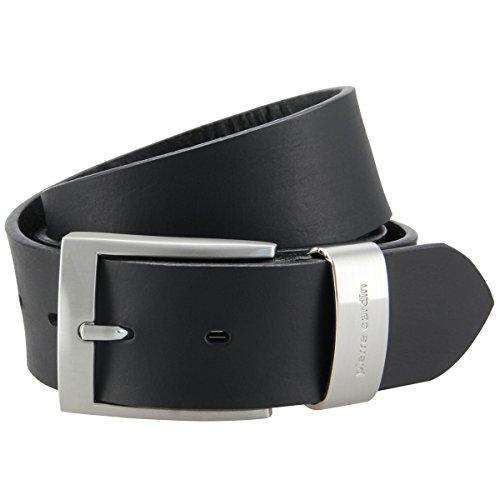 Pierre Cardin Vollrindledergürtel Überlänge bis 150 cm/schwarz, Größe:100