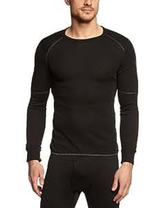 Odlo Herren Shirt Long Sleeve Crew Neck X-Warm, Black, S, 155162