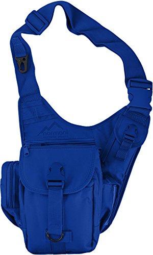 Multifunktions Schulter Umhängetasche mit vielen Fächern Farbe Blau