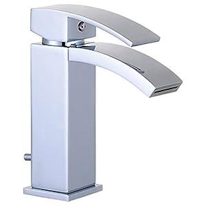 EISL NI075WFCR-E Grifo monomando de lavabo Waterfall