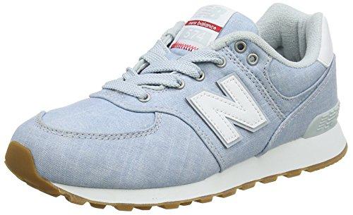 New Balance Unisex-Kinder Gc574V1 Sneaker, Weiß (Arctic Fox), 36 EU -