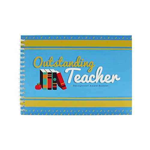 Best Teacher Award Booklet-personalisiertes Geschenk Ideen für Universität, High School oder Uni Lehrer.