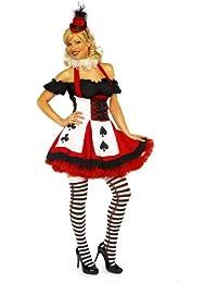 Mix lot Sexy Satin Miß Poker erwachsenes Abendkleid-Kostüm-Partei-Abnutzungs-Damen Outfit Größen 36-38 / 40-42 / 44/46