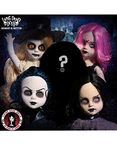 Horror-Shop Living Dead Dolls 20th Anniversary Set inklusive Einer Mystery Puppe